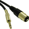 1.5ft Pro-Audio XLR Male to 1/4in Male Cable -- 2215-40033-001 - Image