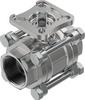 Ball valve -- VZBE-11/2-T-63-T-2-F0507-V15V15 -Image