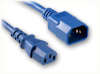 IEC-60320-C14 BLUE to IEC-60320-C13 BLUE HOME • Power Cords • IEC/Jumper Power Cords • Domestic -- 6260.096BLU -Image