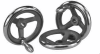 Cast Iron Spoked Hand Wheels with Fixed Handles -- 06271-2250XCR