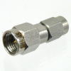 2.92mm Male (Plug) to SSMA Male (Plug) Adapter, Passivated Stainless Steel Body, 1.25 VSWR -- SM4845 - Image