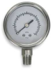 Vacuum Gauge,2 In,Stainless Steel,Lower -- 4FMK3