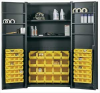 BIN & SHELF STORAGE CABINET -- HF87971A9