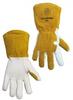 Tillman White/Gold Medium Split Cowhide Leather Welding & Heat-Resistant Gloves - 608134-00491 -- 608134-00491