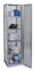 Fully Welded Locker,Single Tier,Silver -- 1AEL7