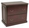File Cabinet,Lateral,Prestige,Mahogany -- 12T347