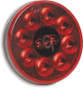 Grote 53252-3 Stop-Tail-Turn LED Light, Red, 4