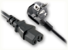 CEE 7/7 EURO SCHUKO RIGHT ANGLE to IEC-60320-C15 HOME • Power Cords • International Power Cords • Europe Power Cords