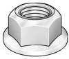 Locknut,1/4-20 x 7/16 In,Pk 5000 -- 5KHK7