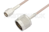 SMA Male to N Male Cable 36 Inch Length Using RG316 Coax, RoHS -- PE3234LF-36 -Image