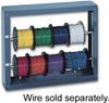 Durham Manufacturing 384-95 Wire Spool Rack, 2 Rod -- 524