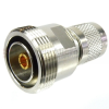 7/16 DIN Female (Jack) to SC Male (Plug) Adapter, High Temp, 1.25 VSWR -- SM4645 - Image
