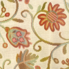 Classic Crewel Tapestry Fabric -- R8436 -- View Larger Image