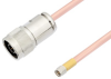 N Male to SMA Male Cable 24 Inch Length Using RG401 Coax -- PE3W04229-24 -Image