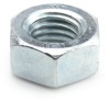 M4 - 0.7 Cl. 6 DIN 934 Finished Hex Nut, Zinc -- N6934M04070Z - Image