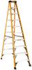 10' Fiberglass Stepladder 300 lbs. Load Capacity -- DXL3010-10 - Image