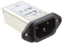 Power Entry Connectors - Inlets, Outlets, Modules -- 1144-1256-ND -Image