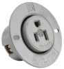 Pass & Seymour® -- Flanged Outlet, Gray - 5279SS - Image