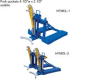 AUTOMATIC EAGLE BEAK™ DRUM LIFTER -- HFMDL-1 - Image