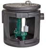 Sewage System, 1/2HP, Piggy-Back Switch -- 6JGW6