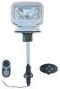 HID Golight Stryker - Perko Post Mount - 5000 Foot Beam - Wireless Remote Control - White