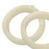4mm ID x 6mm OD Natural Nylon 6 Tubing 100' Roll -- 58521