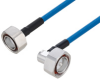 Plenum 7/16 DIN Male to 7/16 DIN Male Right Angle Low PIM Cable 60 Inch Length Using SPP-250-LLPL Coax Using Times Microwave Parts -- PE3C6188-60 -Image