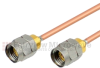 1.85mm Male to 1.85mm Male Cable RG405 Coax in 12 Inch -- FMC3030988-12 - Image