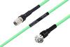 Temperature Conditioned TNC Male to TNC Male Right Angle Low Loss Cable 100 cm Length Using PE-P300LL Coax -- PE3M0239-100CM -Image