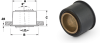 Press-Fit Sleeve Bearings (inch) -- A 7Z47-PSN250