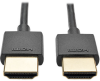 Slim High-Speed HDMI Cable with Ethernet and Digital Video with Audio, UHD 4K x 2K (M/M), 3 ft. -- P569-003-SLIM -- View Larger Image