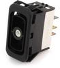EATON NGR Rocker Switch, SPDT, On-Off-On, Unlit, NGR10041BN00N -- 43002 -Image