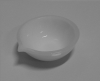 Opaque Quartz Crucible - Basin or Round Bottom With Spout