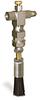 "(Formerly A2261-2X00), Valve Brush, 5/8"" Round Nylon, 1/8"" Female NPT Inlet -- A2261-NR2BHW -Image"