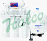 """5 Stage RO System TFC Membrane 35 GPD 4 Gal Tank 1/4"""" -- WIN-545 - Image"""