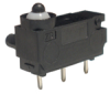 MICRO SWITCH ZD Series Subminiature Basic Switch, Single Pole Double Throw Circuitry, 10 mA @ 12 Vdc, Pin Plunger, PCB Straight Termination, Gold Contacts -- ZD20S20A02 -Image