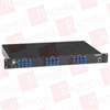 "BLACK BOX CORP NBS004A ( 19"" 1U RACKMNT GANG SWITCH (4) DUPLEX MM SC ) -Image"