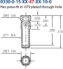 Press-Fit Receptacle -- 0330-0-15-01-47-14-10-0 - Image