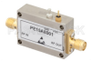 14 dBm P1dB, 10 MHz to 6 GHz, Gain Block Amplifier, 14.5 dB Gain, 26 dBm IP3, 4.5 dB NF, SMA -- PE15A8001 -Image