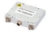 High Power Bi-Directional Amplifier, 5/20 Watts, 2.4 GHz to 2.5 GHz, 1 us switching, 20 dB Gain, SMA -- PE15B5000