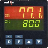 PXU - PID Controller, 1/4 DIN Universal Input, Linear V Out, DC power, RS-485, 2nd relay output, Remote set point, User Input -- PXU41DE0 -Image