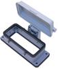 Standard, Rectangular Base, Bulkhead mount, size 77.27, 4 Pegs & plastic cover -- CHI-16CP