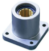DryLin® R Straight Bearing, Flange Pillow Block, Inch -- FJUI-11-XX
