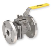 Ball Valve,2 PC,Stainless Steel,3/4 In -- 1PPT4