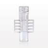 Female Connector, Clear -- 91000 -Image