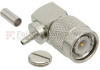 RA TNC Male Connector Crimp/Solder Attachment For RG174, RG316, RG188, LMR-100 Cable -- FMCN1150 -Image
