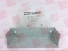 WIREMOLD G-4010B ( BLANK END FITTING, FOR USE WITH 4000 RACEWAY, GREY, 1.25 INCH HEIGHT, 4.75 INCH WIDTH, 1-1/4 LENGTH, STEEL, (PRICE EACH) ) -Image
