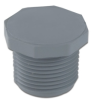 "1/4"" Light Gray Schedule 80 CPVC Threaded Plug -- 29071"