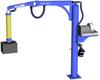 Free Standing PIVOT PRO™ Articulating Jib Crane, 150 lb. Capacity -- PPRO-FS-150 Series
