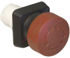 Switch,Pushbutton,Emergency Stop,NON Illuminated,BLACK -- 70128706